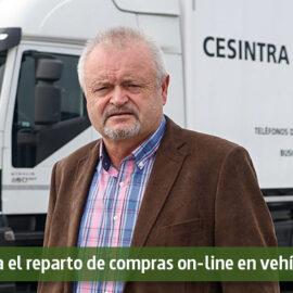 Cesintra denuncia el reparto de compras on-line en vehículos particulares